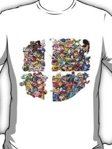 Super Smash Bros. WiiU and 3Ds + DLC T-Shirt