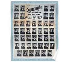 1972 Symsonia High School Poster