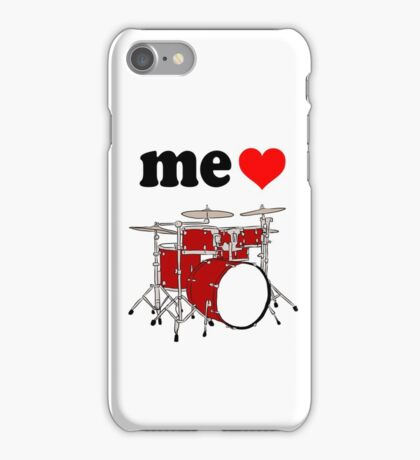 Me Love Drums iPhone Case/Skin