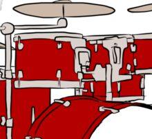 Me Love Drums Sticker