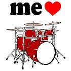 Me Love Drums by Rich Anderson