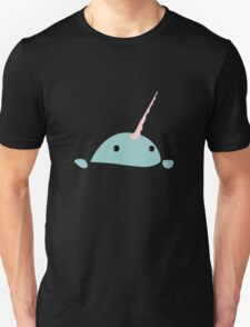 Narwhal window geek funny nerd T-Shirt
