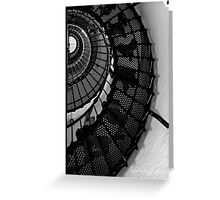 staircase shell Greeting Card