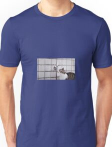 Cat drinking from a tap Unisex T-Shirt