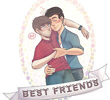 Smosh-Best Friends by Didyoujustboop