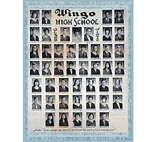 1972 Wingo High School Photographic Print