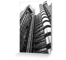 Lloyds Building, London Greeting Card