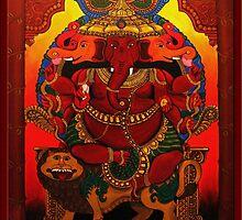 Ganesha by Veena  Gupta