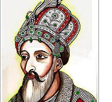 Bahadur Shah, the last Mughal king of India by Veena  Gupta