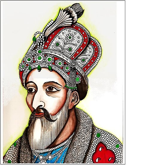 Bahadur Shah, the last Mughal king of India by Veena  Gupta