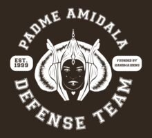 Padme Amidala Defense Team (white text) by houseorgana