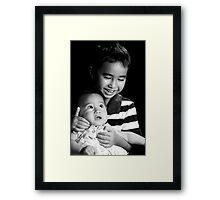 The Younger Sister Framed Print