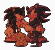 Sonic and Shadow with Chao Kids Clothes