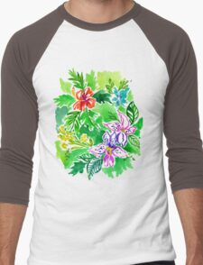 the grass on the other side. Men's Baseball ¾ T-Shirt
