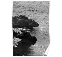 Cracked Conch Bay, Northwest Coastline, Grand Cayman Poster