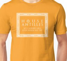 House Antilles (white text) Unisex T-Shirt