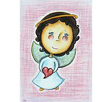 Little Love Angel Photographic Print