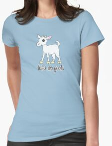 Totes Ma Goats Womens Fitted T-Shirt