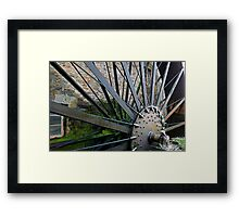 Old Mill Wheel 1 Framed Print