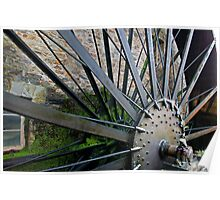 Old Mill Wheel 1 Poster