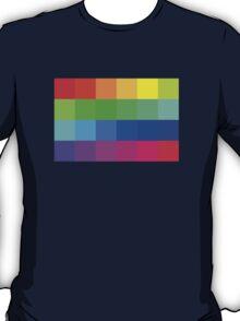 Colorful Pixels  T-Shirt