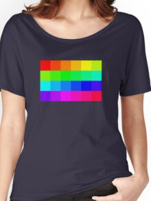 Colorful Pixels  Women's Relaxed Fit T-Shirt