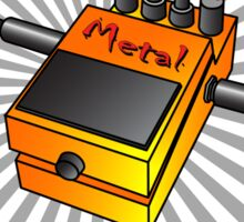 Metal Stompbox Sticker
