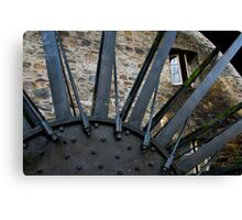 Old Mill Wheel 2 Canvas Print