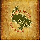 Fish With Bass by SpiceTree