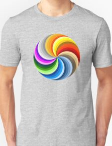 Colorful Circles Unisex T-Shirt