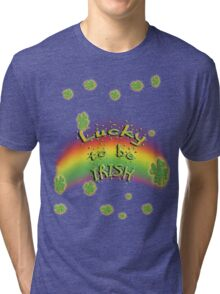 Irish Luck Tri-blend T-Shirt