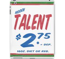 Hidden Talent Supermarket Series iPad Case/Skin