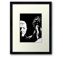 I'd Be Lost Without My Blogger Framed Print