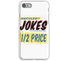 Recycled Jokes Supermarket Series iPhone Case/Skin