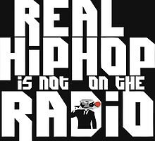 Real hiphop not on radio by hophop