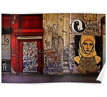 West Village Wall, New York City Poster