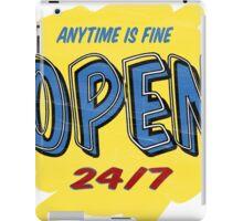 Open Sign iPad Case/Skin
