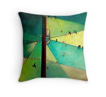 Earth Bound Power #6 Throw Pillow