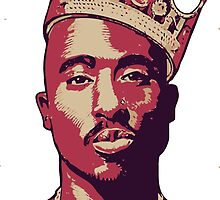 2pac king by hophop