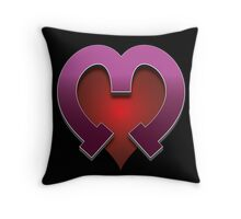 Merzhart - not to be confused with Mozart. Throw Pillow