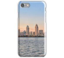 San Diego Skyline Sunset CALIFORNIA iPhone Case/Skin