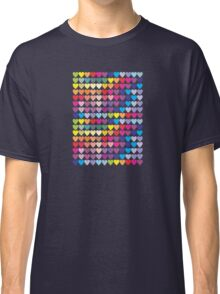 Colorful Hearts Classic T-Shirt