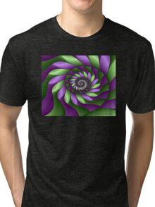 Ribbon Spiral Tri-blend T-Shirt