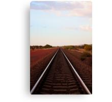 Rail in the Pilbara Canvas Print