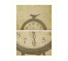 Will time ever stand still for us Art Print