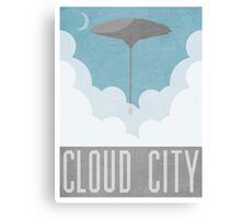 Cloud City Star Wars Poster Canvas Print