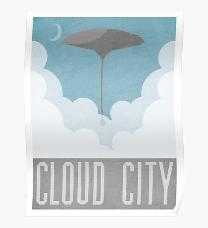 Cloud City Star Wars Poster Poster