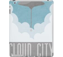 Cloud City Star Wars Poster iPad Case/Skin