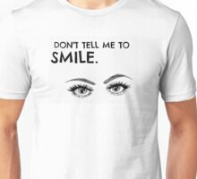 It causes wrinkles. Unisex T-Shirt