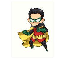 DC Comics    Damian Wayne/Robin Art Print